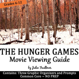 The Hunger Games Movie Guide Pack, Questions, Prompts, Add Rigor, Sub Plans