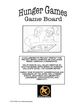 The Hunger Games Novel Board Game Project