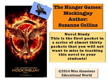The Hunger Games ~ Novel Study ~ Chapter One