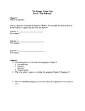 The Hunger Games Novel Study Chapter Questions - Comprehen