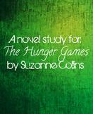 The Hunger Games Novel Study Unit