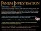 The Hunger Games - Panem Investigation - Compare to U.S. o