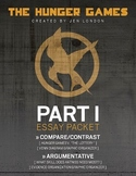 The Hunger Games - Part 1 Essay Packet