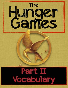 The Hunger Games: Part II Vocabulary PowerPoint