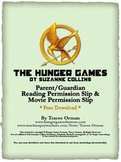 Free The Hunger Games Permission Slips for Reading & Movie