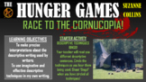 The Hunger Games - Race to the Cornucopia! (Descriptive Writing Lesson)