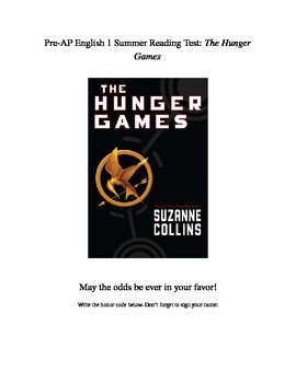 The Hunger Games Reading Test