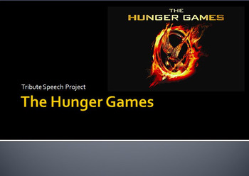 The Hunger Games Speech Project