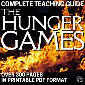 The Hunger Games Teaching Unit Complete Novel Bundle Activities, Handouts, Tests