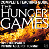 The Hunger Games Novel Unit - Activities PACKET | DISTANCE