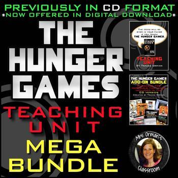 The Hunger Games Teaching Unit Mega Growing Bundle