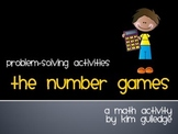 "The Hunger Games - ""The Number Games"" Math Word Problems - End of the Year"