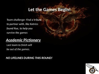 The Hunger Games Mockingjay Themed Academic Decathlon Game