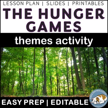 The Hunger Games Themes Textual Analysis Activity