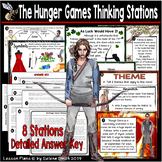 The Hunger Games Thinking Stations
