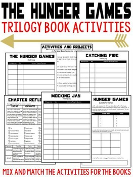 The Hunger Games, Catching Fire, and Mocking Jay (Trilogy Activity Pack)