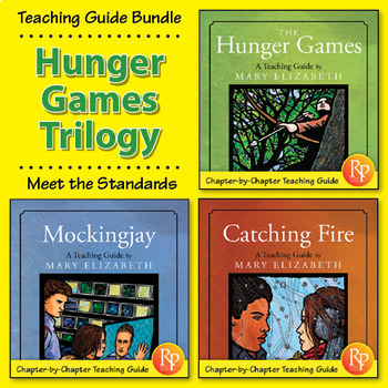 The Hunger Games Trilogy by Suzanne Collins: Literature Teacher Guide {Bundle}