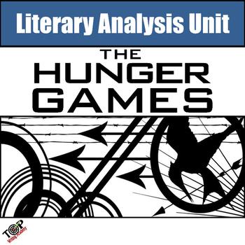 Hunger Games Unit Novel Literature Study Guide