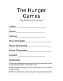 """The Hunger Games Unit - """"May the odds be ever in your favor!"""""""