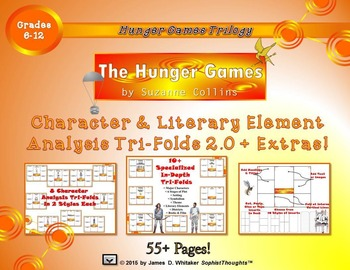 The Hunger Games by Suzanne Collins Activity Bundle