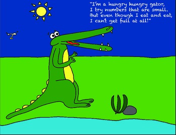 The Hungry Alligator: A Story to Teach Number Comparison