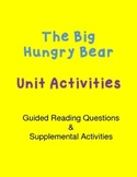 The Hungry Bear- Unit Activities