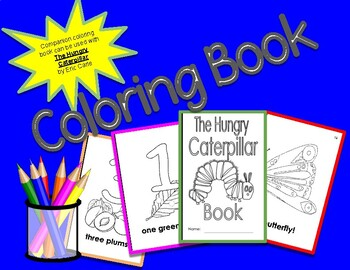 The Hungry Caterpillar Coloring Book