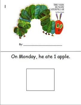The Hungry Caterpillar Comprehension Booklet