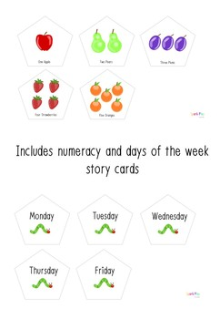 The Hungry Caterpillar Story Cards