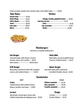 The Hungry Decimal Diner- Adding, Subtracting, Comparing Decimals