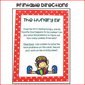 The Hungry Elf Subtraction Activity