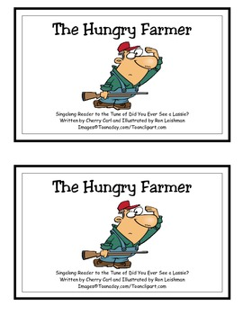 The Hungry Farmer: Thanksgiving Singalong Guided Reader