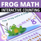Frog Math Activity: Interactive Counting Book for Preschool, Pre-k, Kindergarten