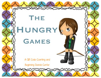 The Hungry Games-A QR Code Beginning Sound & Counting (to