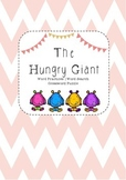 The Hungry Giant Word Practise and Word Search