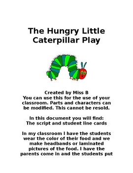 The Hungry Little Caterpillar Play