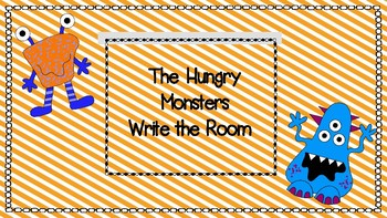 The Hungry Monster Write the Room