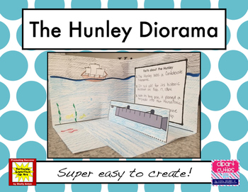 The Hunley Diorama