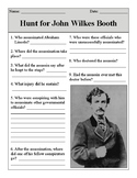 The Hunt for John Wilkes Booth Quiz