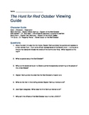 The Hunt for Red October Movie Viewing Guide