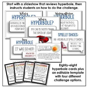 The Hyperbole Challenge