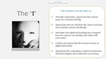 The I - Identity Construction, Cyberbullying and Digital Citizenship