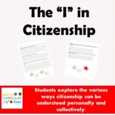 The I in Citizenship (A Group Task to Engage in Critical a