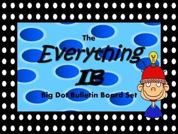 The IB Big Dot Bulletin Board Set