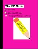 The IEP Writer