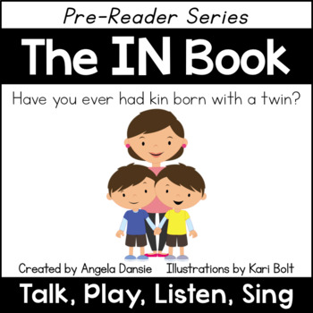 The IN Book and Games (Word Family Pre-Reader Series)