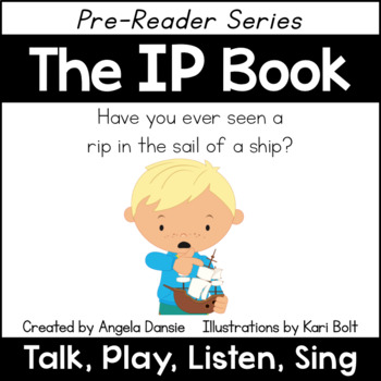 The IP Book and Games (Word Family Pre-Reader Series)