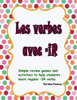 The -IR verb book