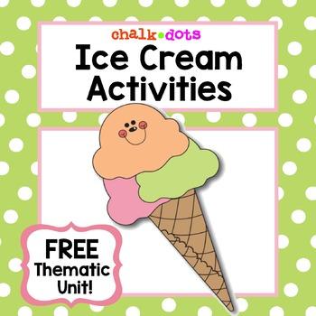 Ice Cream (Free thematic unit)