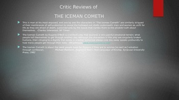The Iceman Cometh Overview